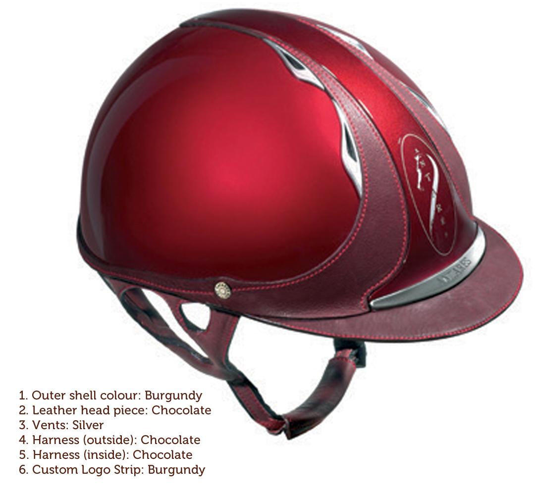Antares custom helmet