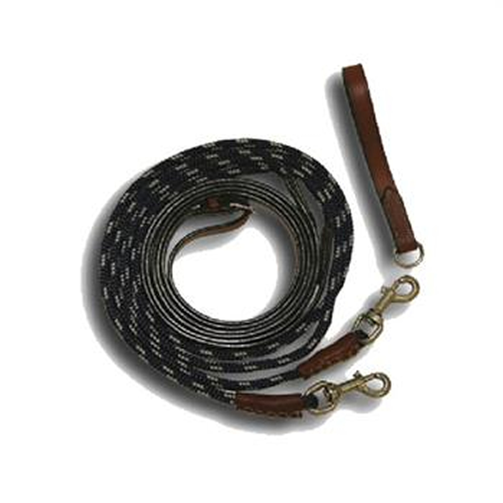 Leather And Rope Draw Reins Pm Equestrianpm Equestrian