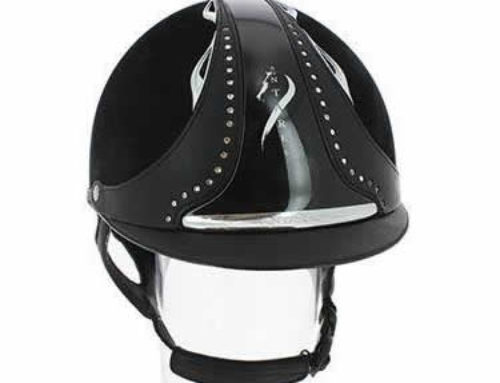 Antares Riding Hat, Now With Bling
