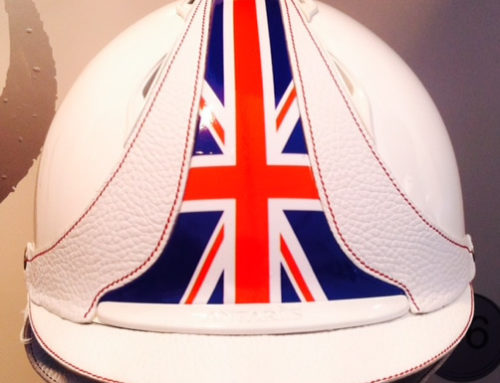 Antares British Flag Custom Helmets
